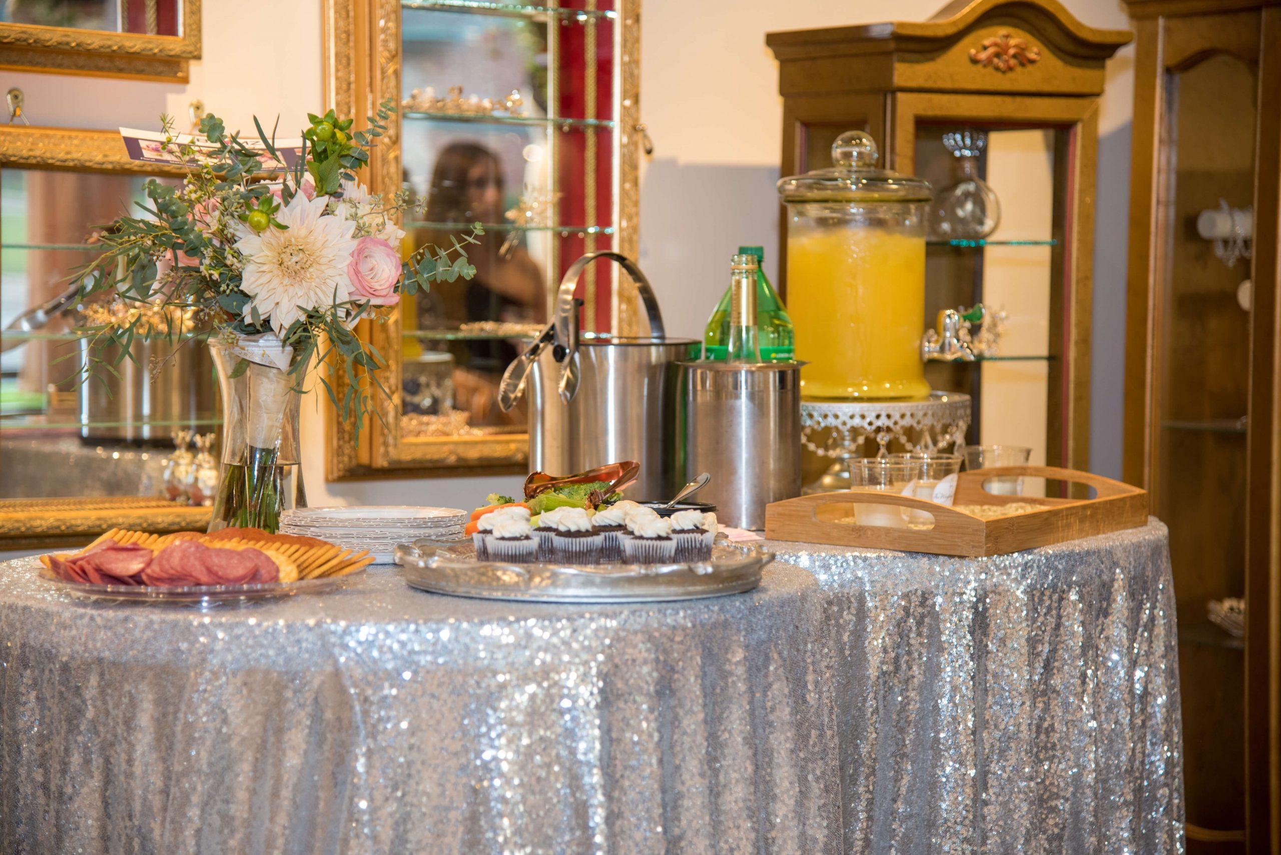 Food at Wedding Shoppe