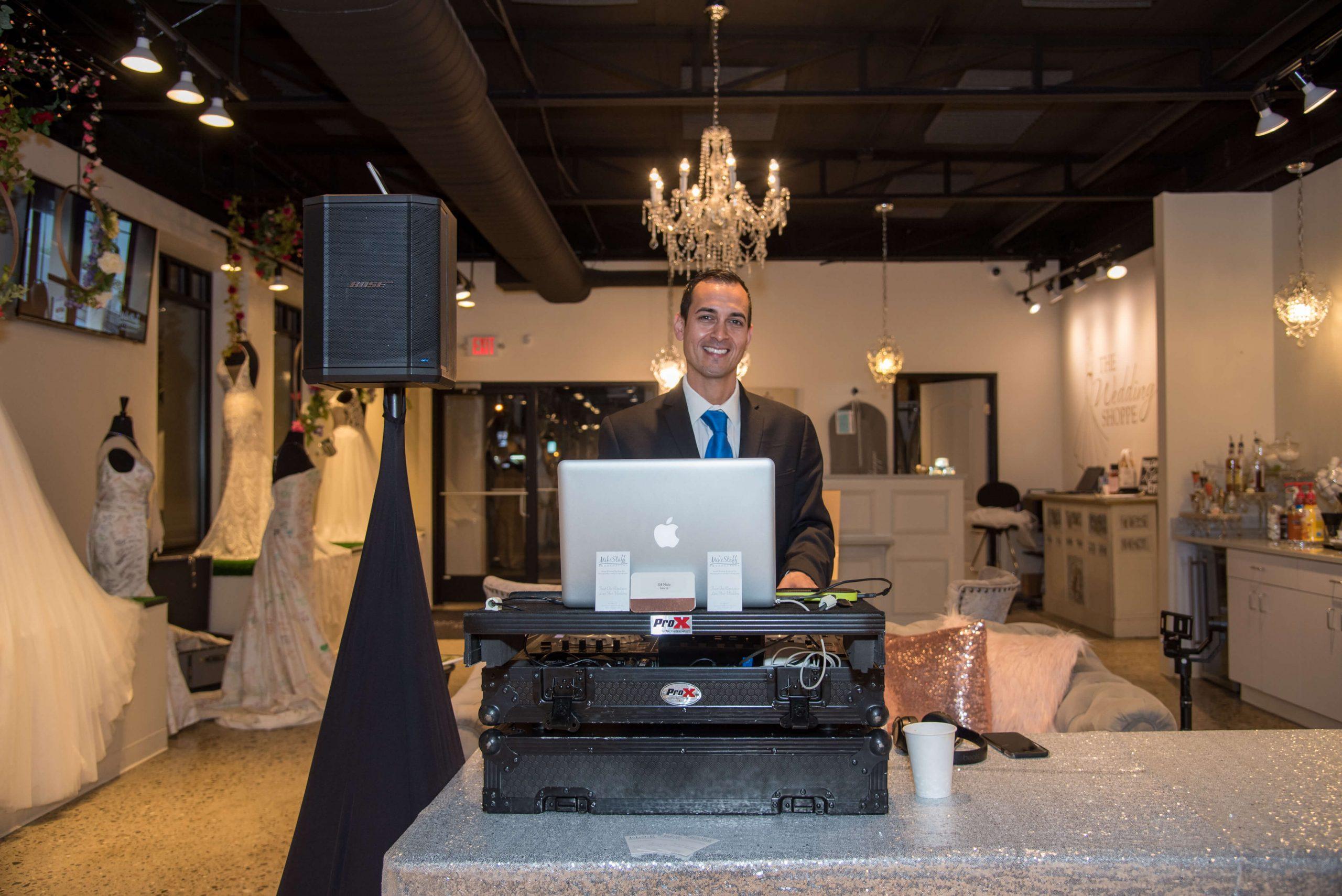 MSP DJ at Wedding Shoppe