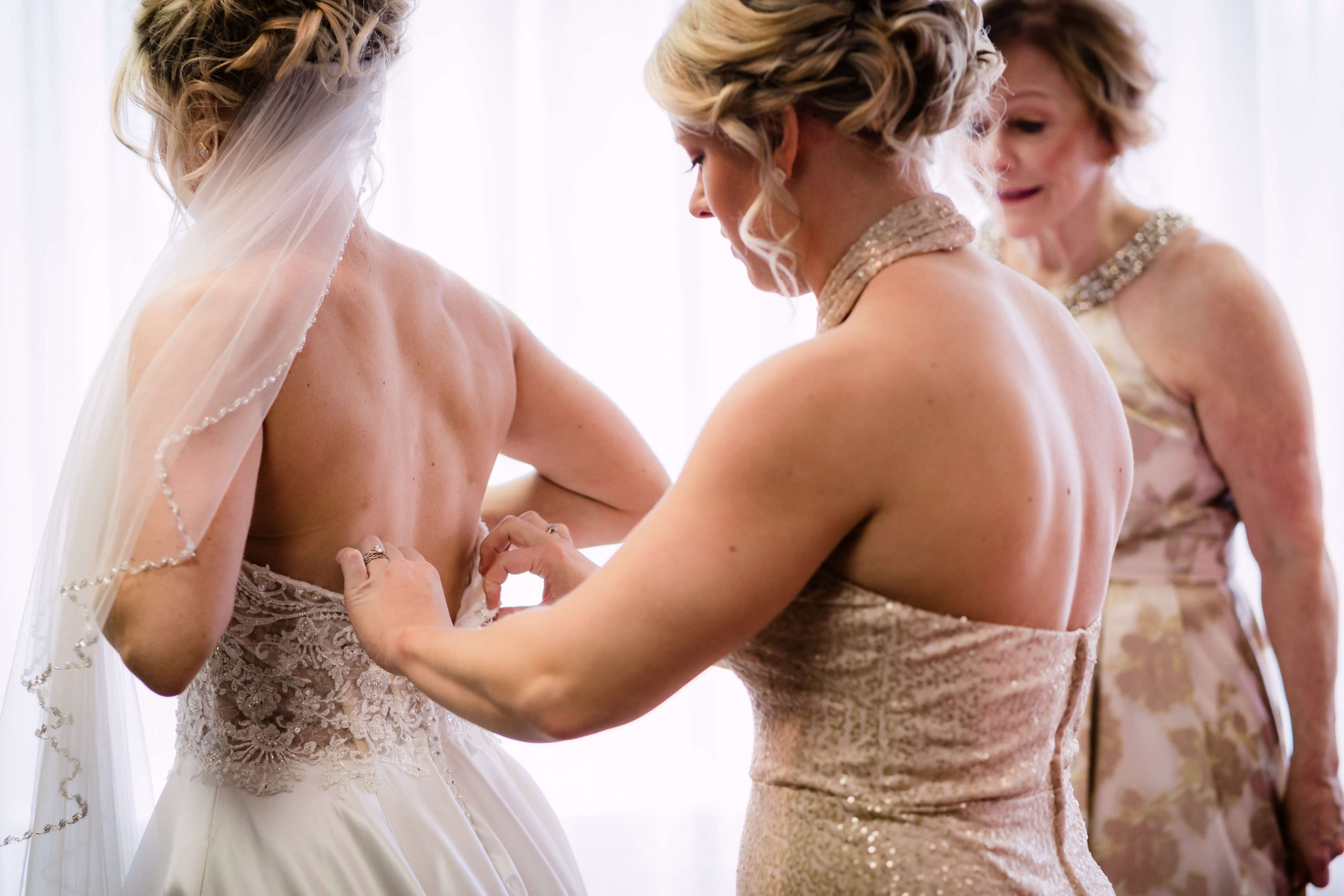 bride bates wedding