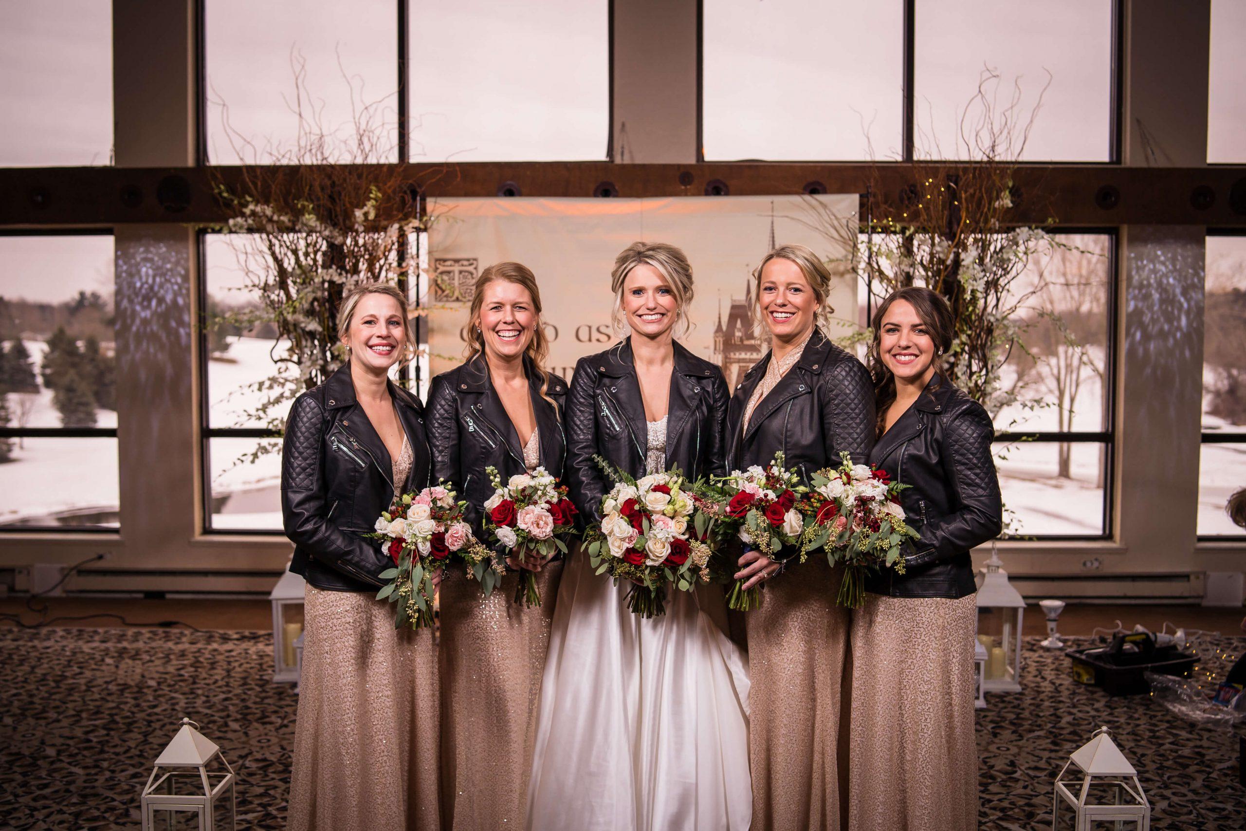 bridesmaids bates wedding