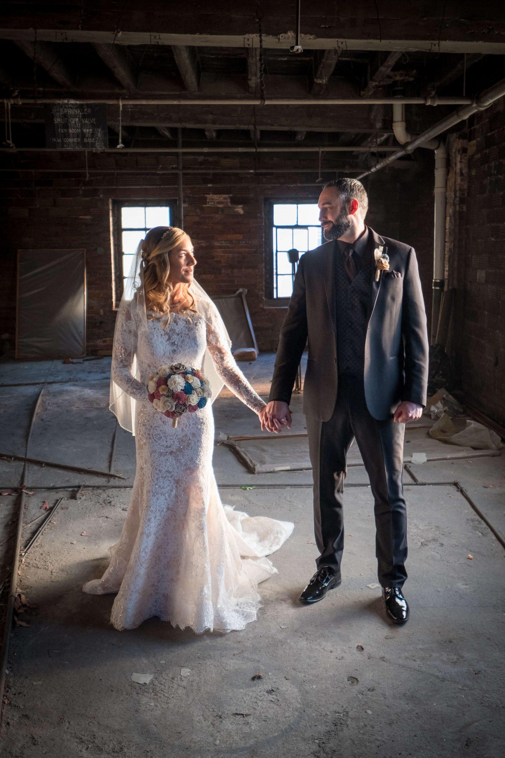 husband and wife wedding photography