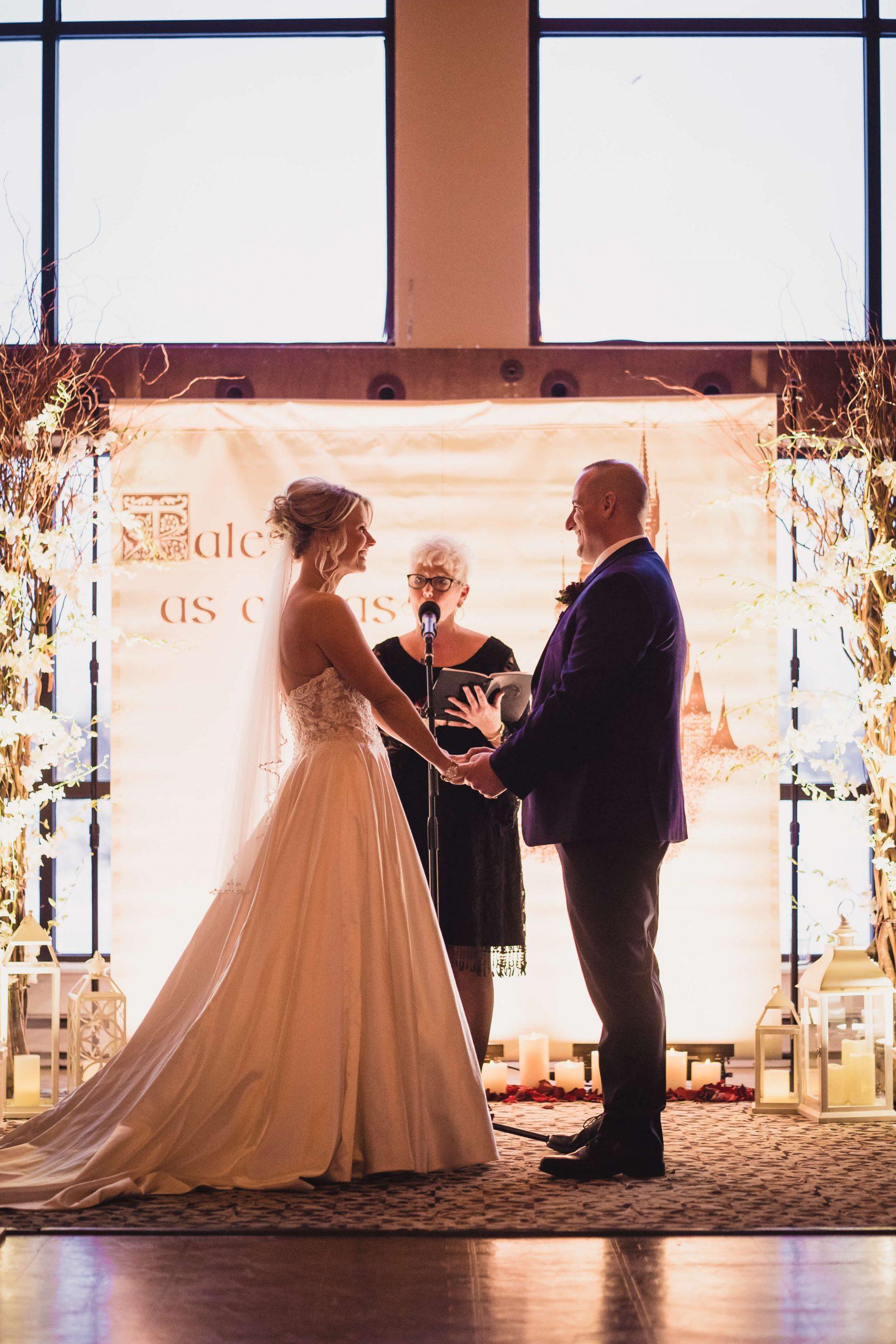 wedding ceremony bates wedding