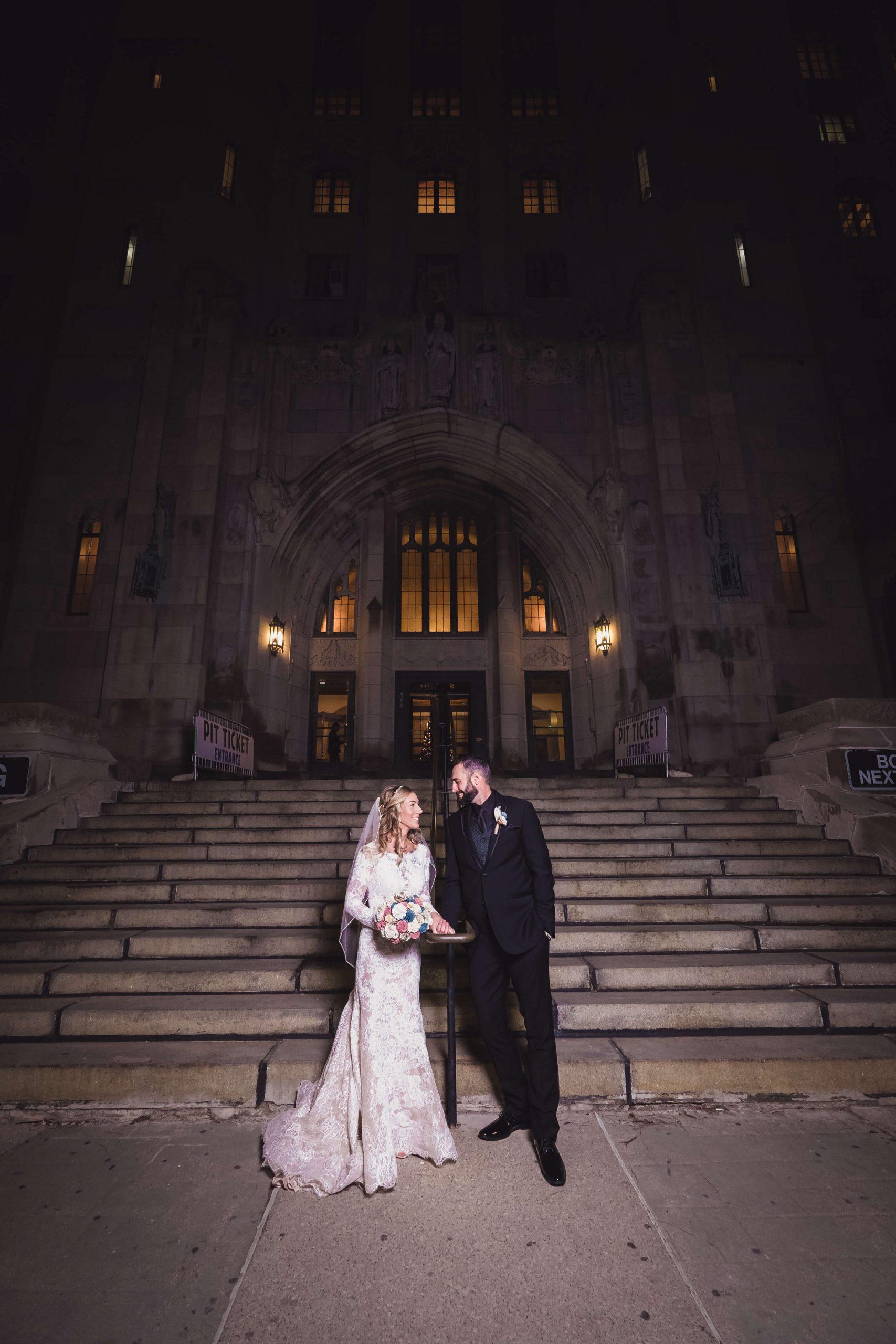 real detroit wedding kathryn steve