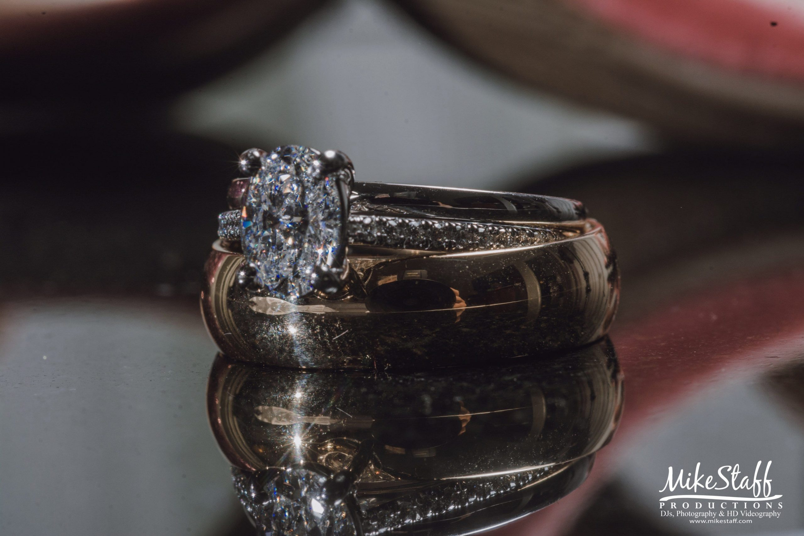 Alysse and Mike Wedding rings