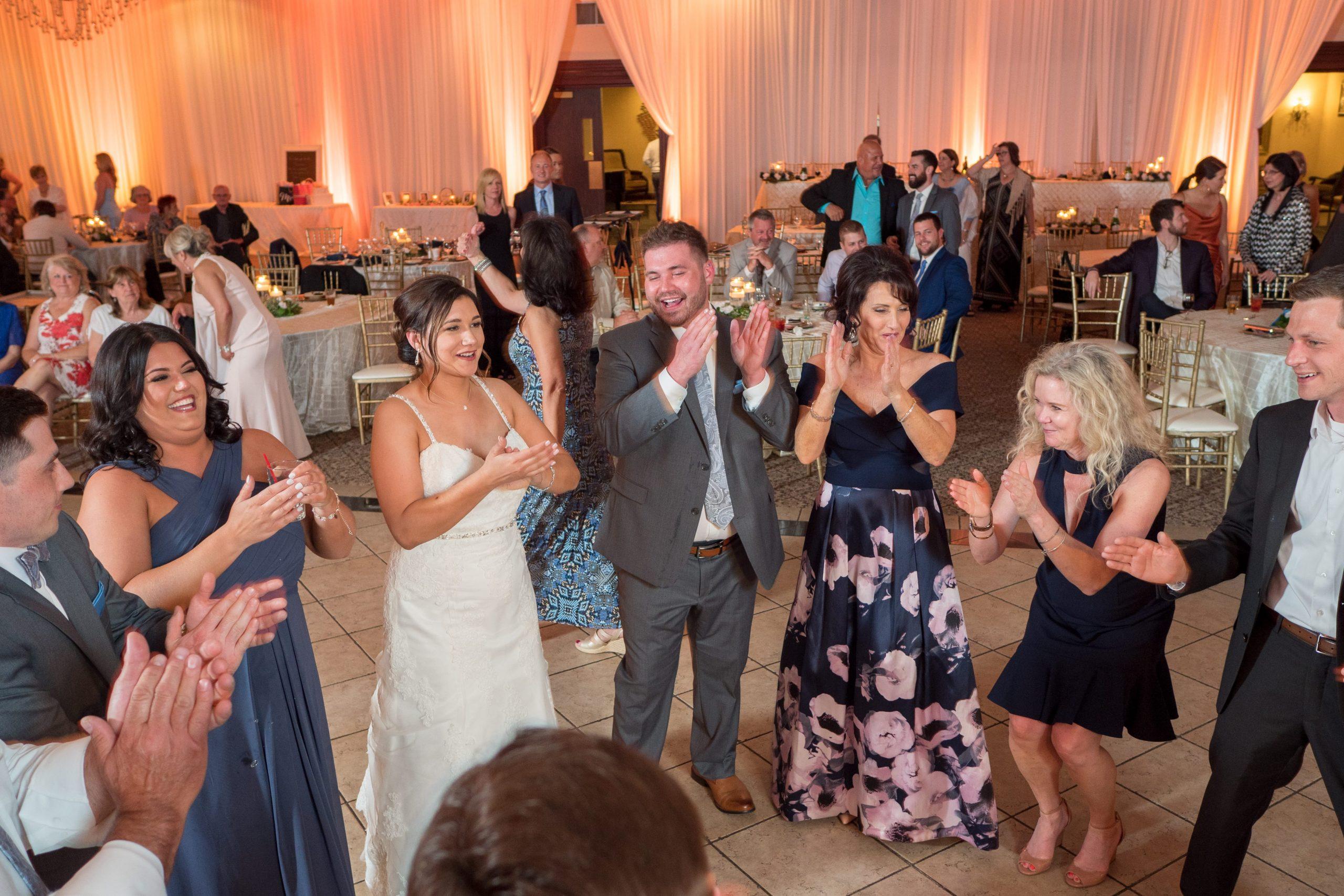 packed dance floor wedding dj