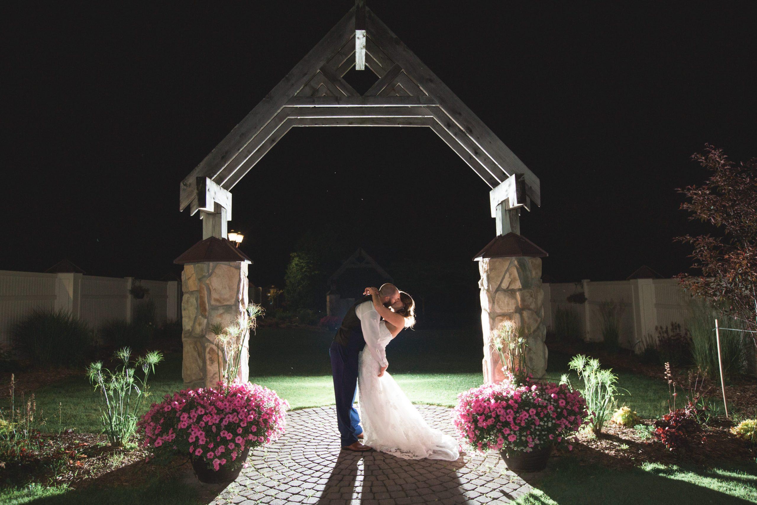 wedding evening romantics