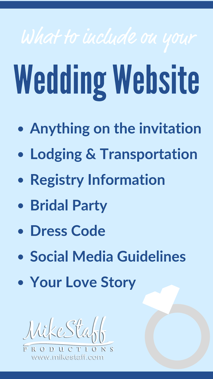 wedding website graphic