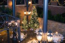 Christmas tree at Inn at St. John's