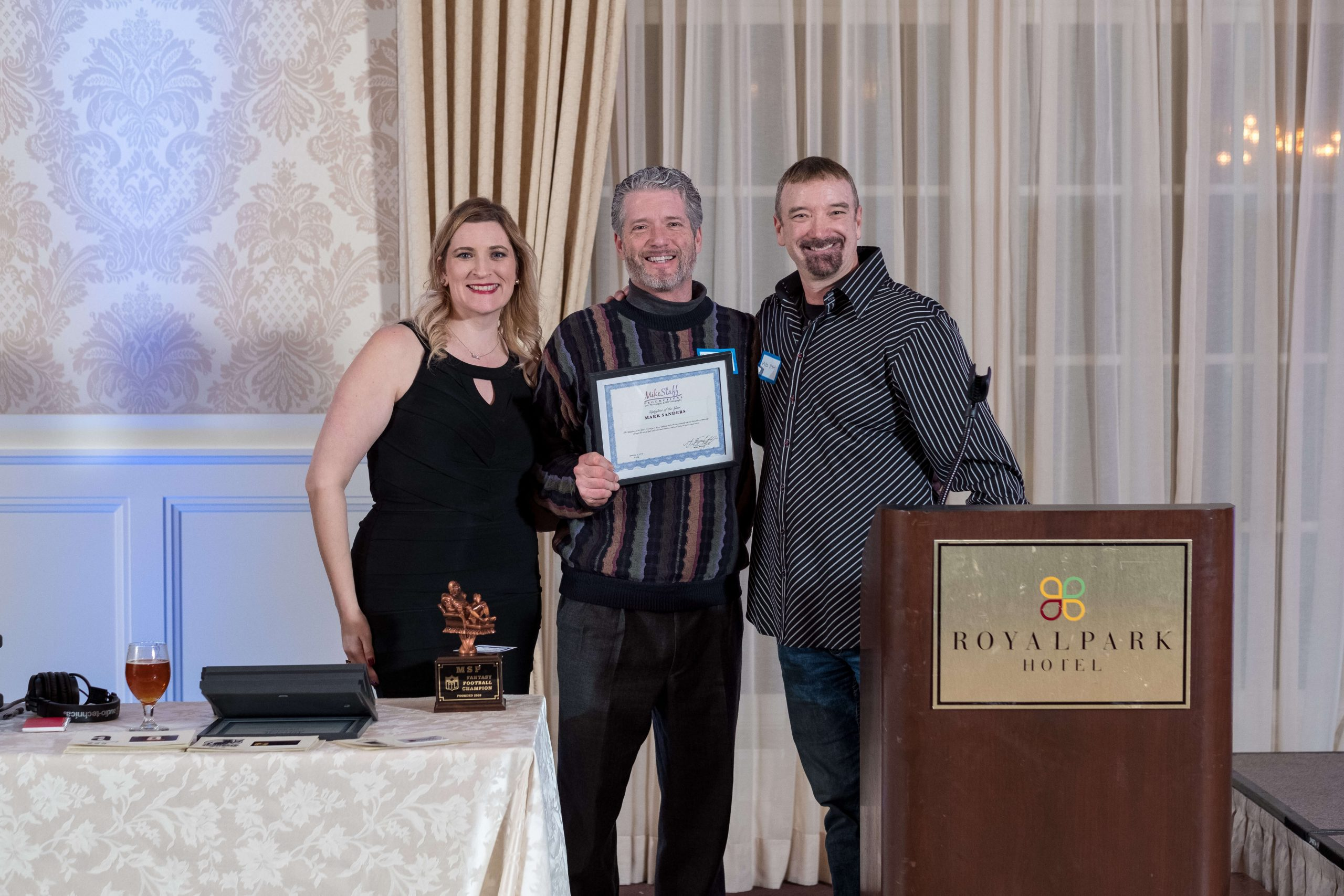 Mike Staff Productions uplighter of the year