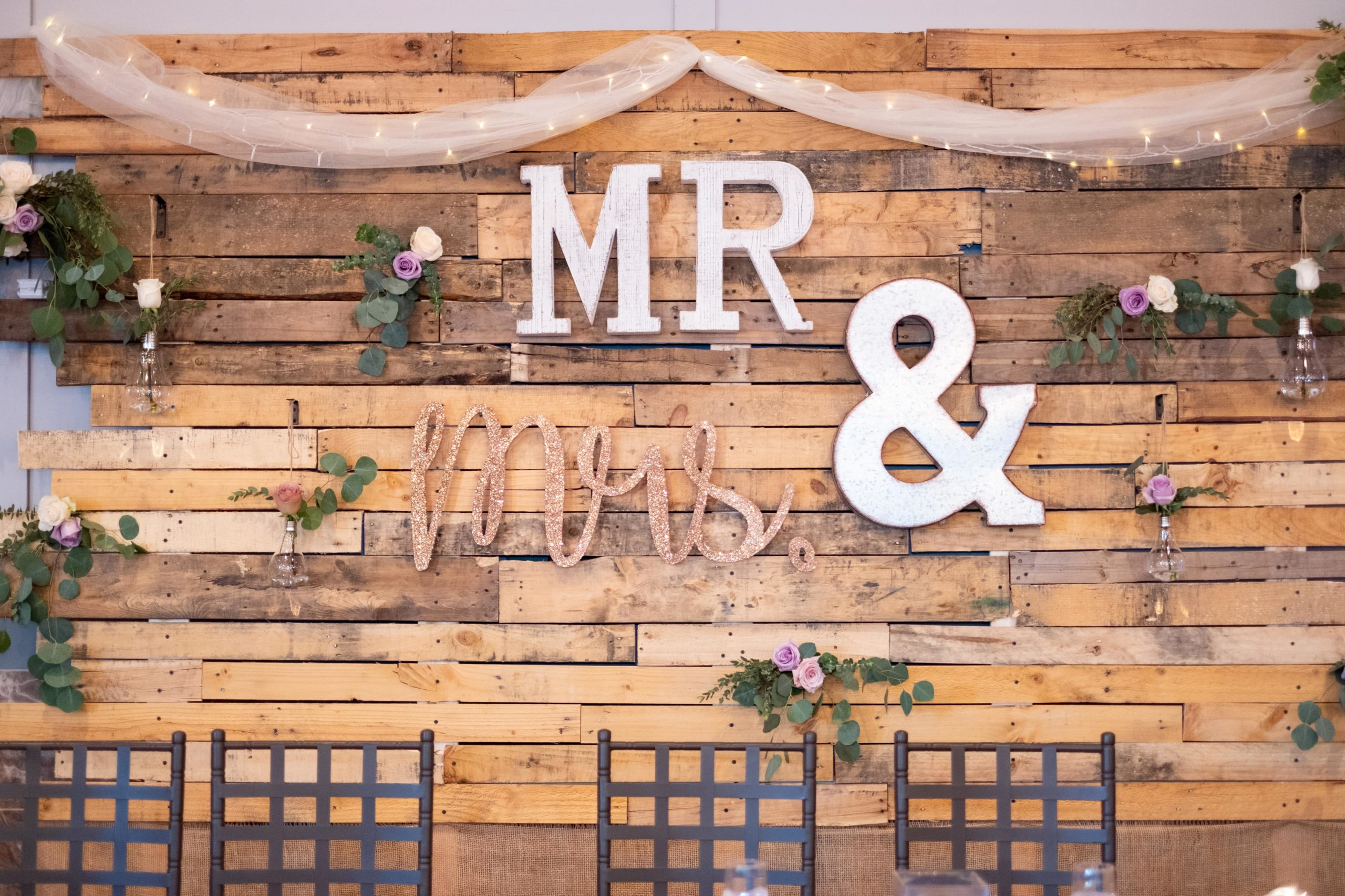 II Gather mr & mrs sign