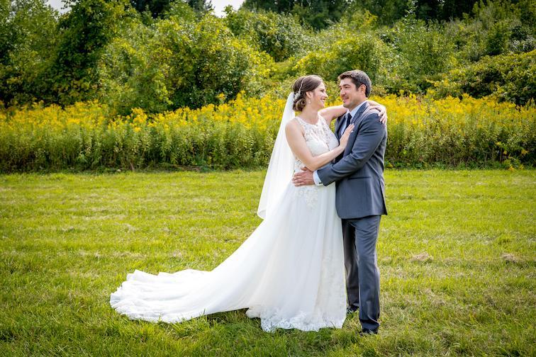 Julie and Eric outdoor romantics