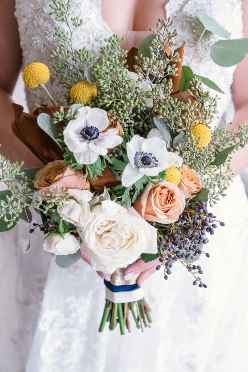 amanda's bridal bouquet