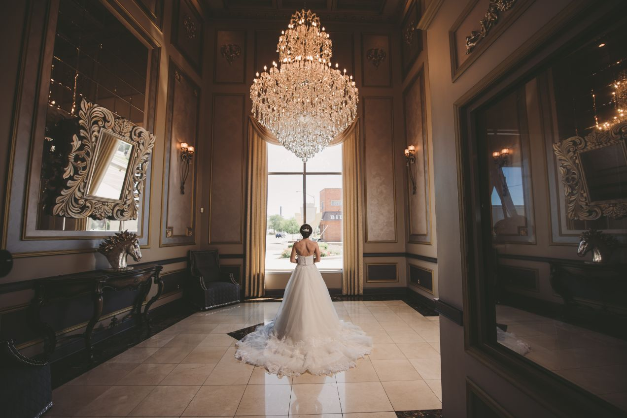 bridal portrait at The Bentley