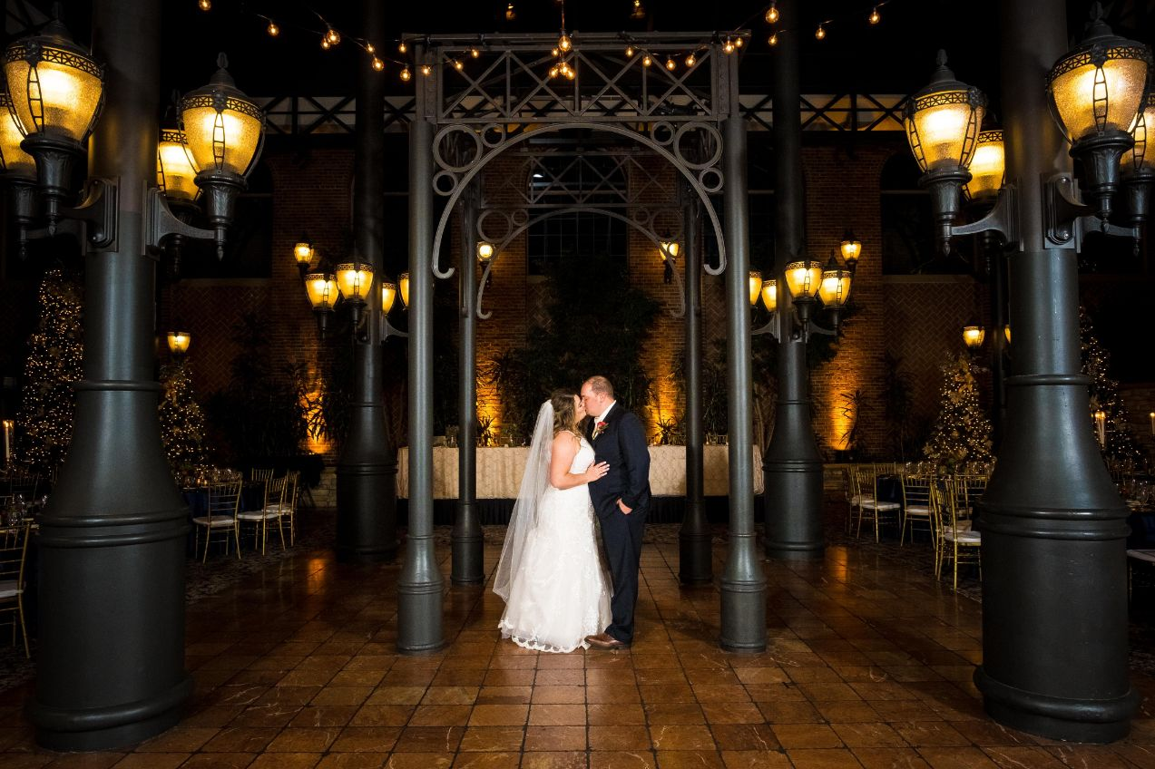 carrie and matthew reception space romantics