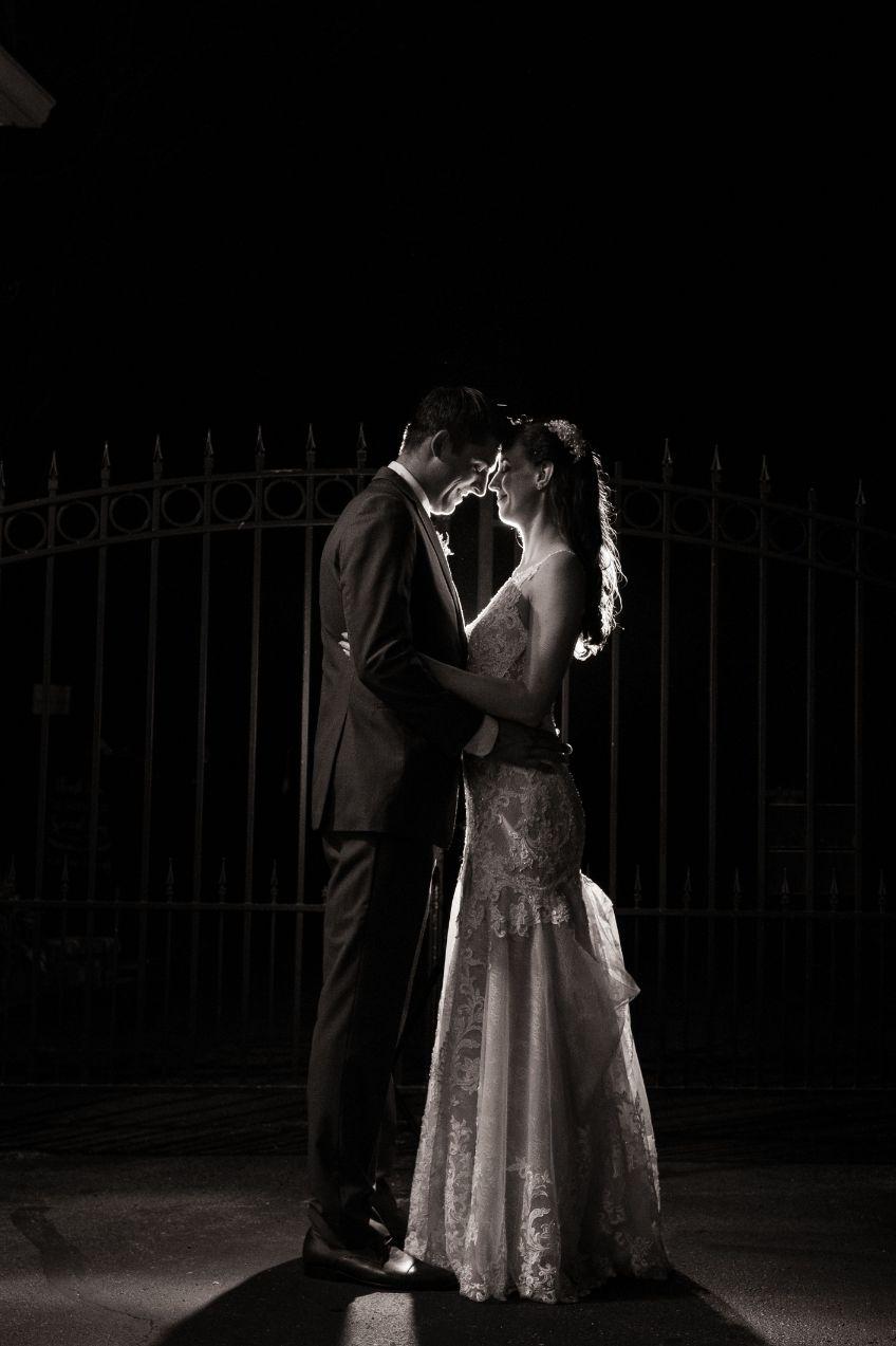 evening black and white romantics