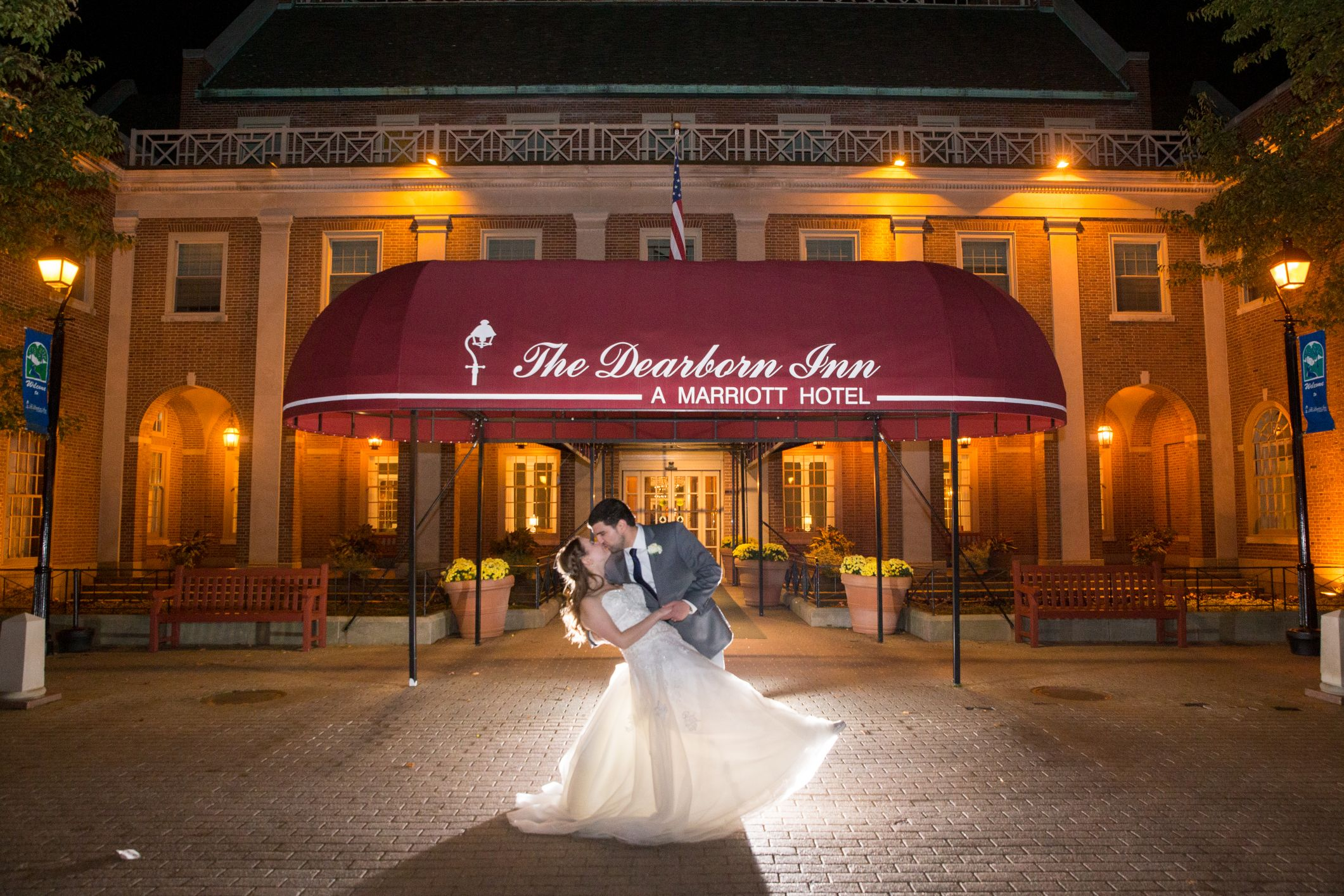 evening romantics at dearborn inn