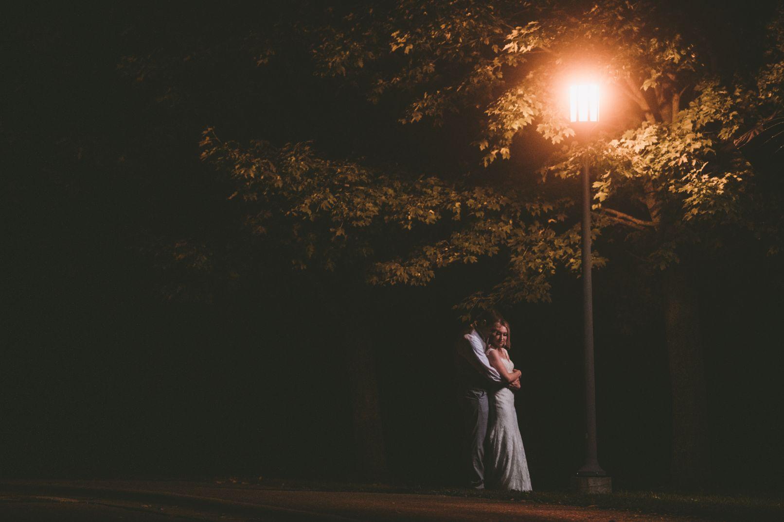 evening romantics under light at Stonebridge Golf Club