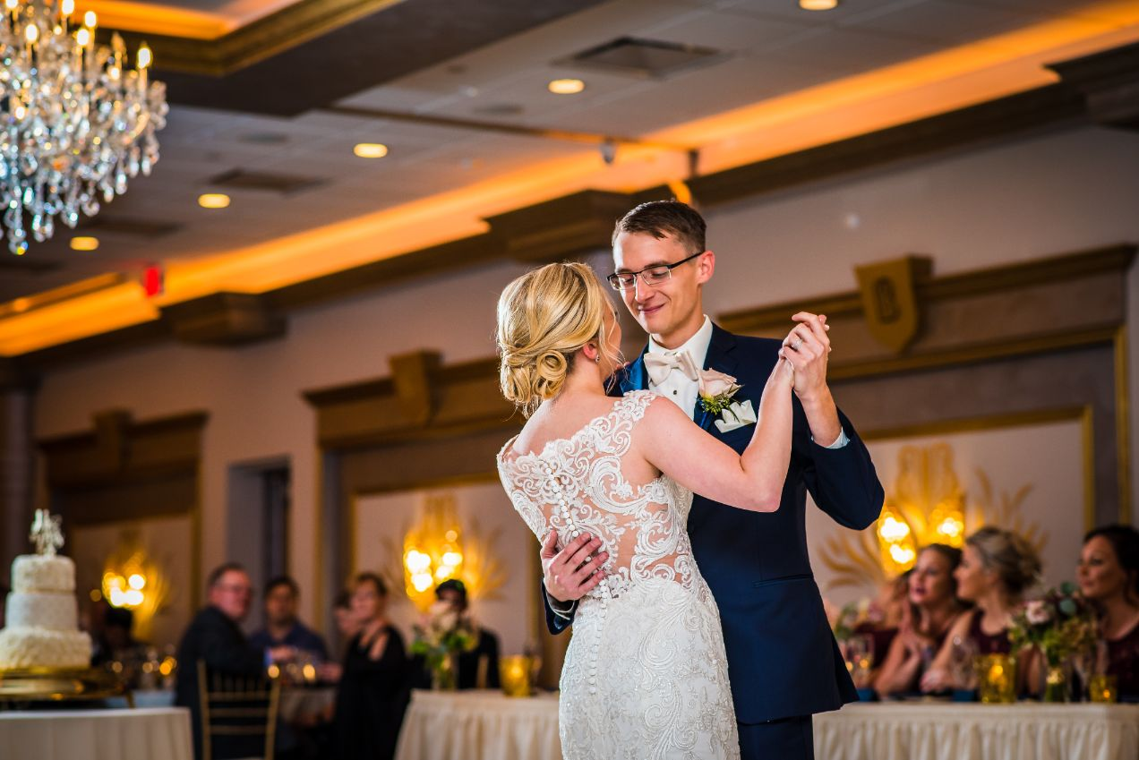 first dance at The Bentley