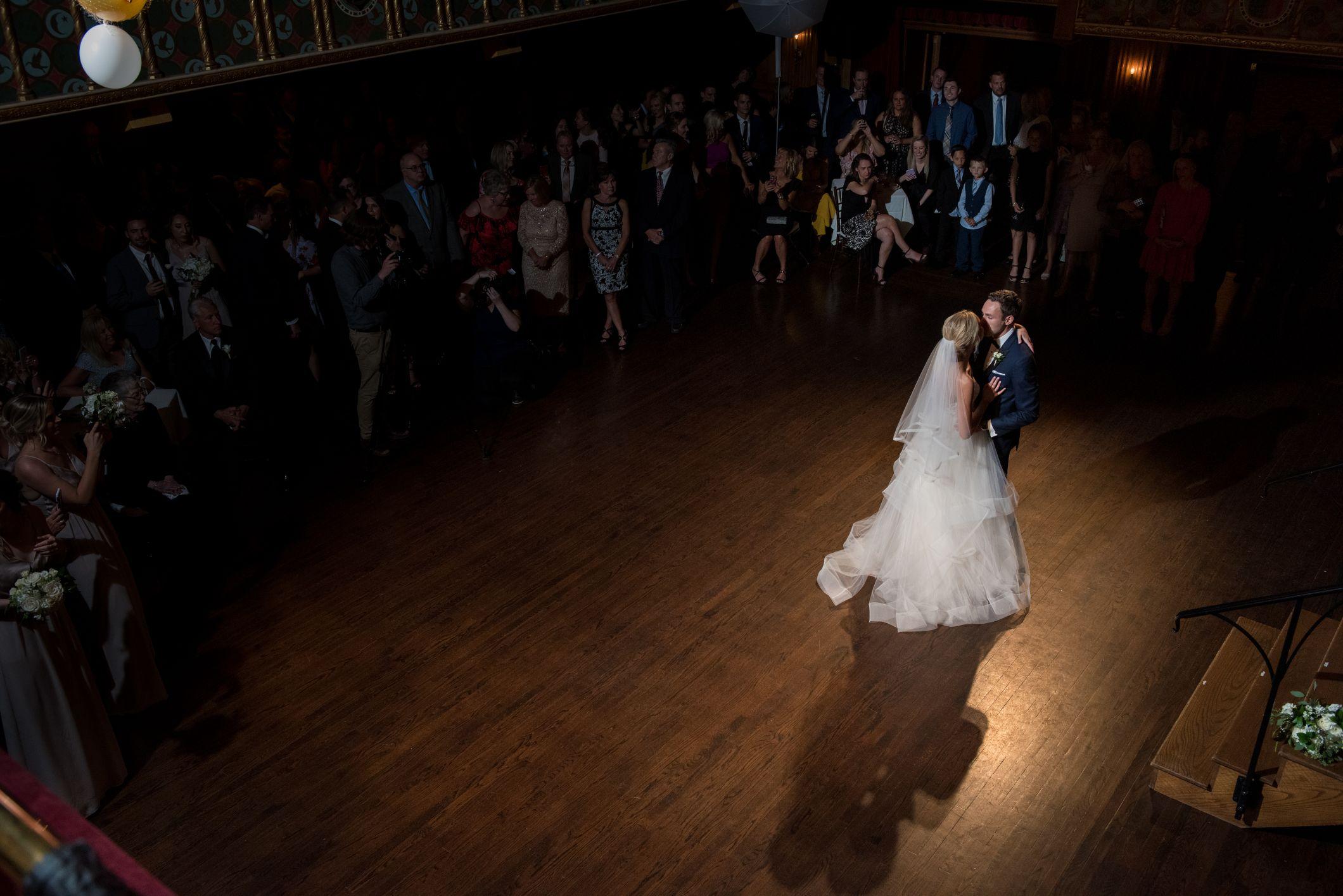 first dance at gem