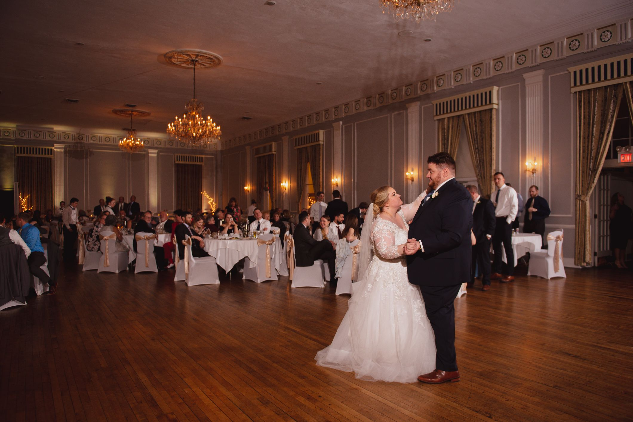 first dance at meeting house grand ballroom