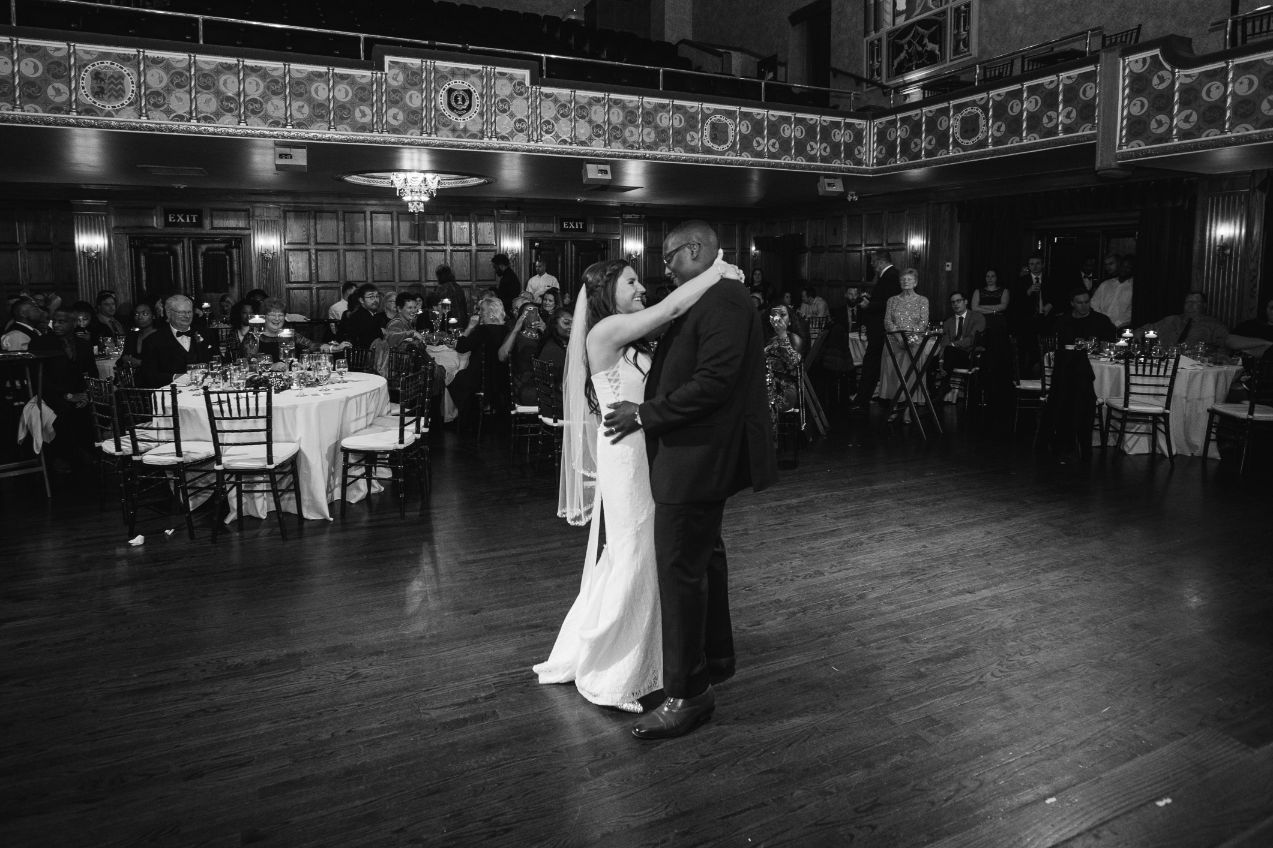 jennifer and tearis first dance