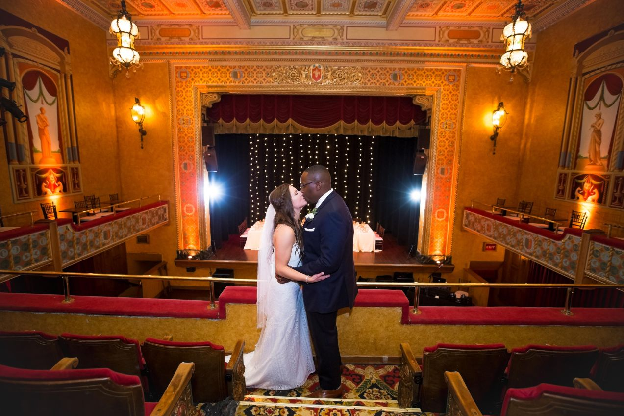 jennifer and tearis in the gem theatre