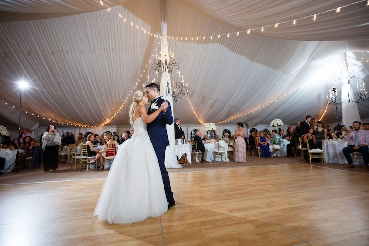 meadowbrook tent outdoor wedding venue