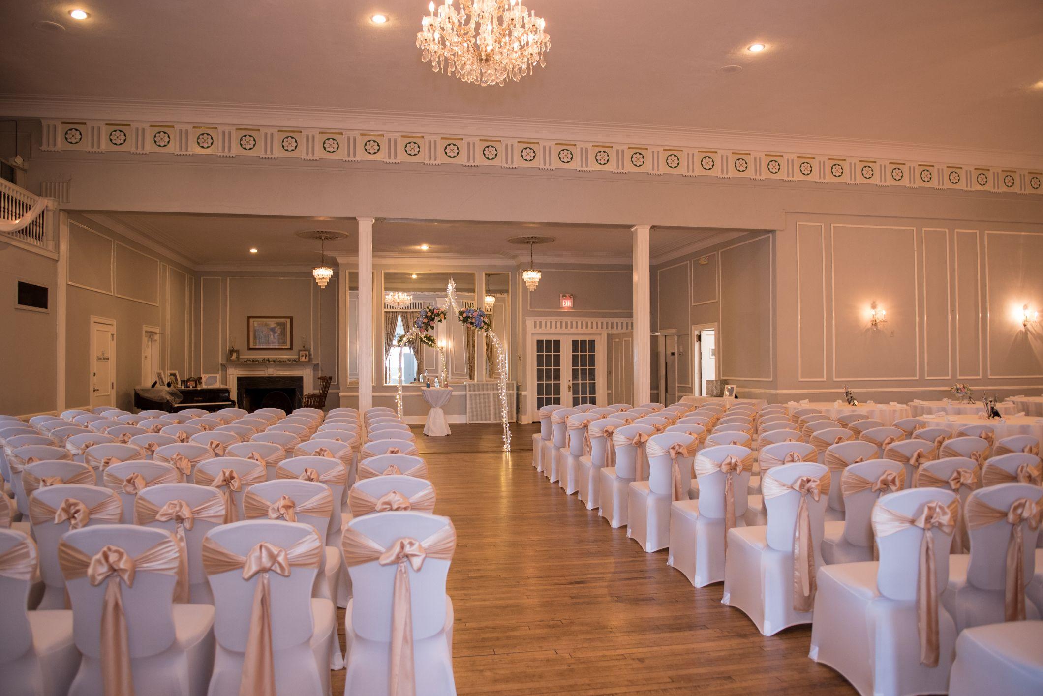 meeting house grand ballroom ceremony space