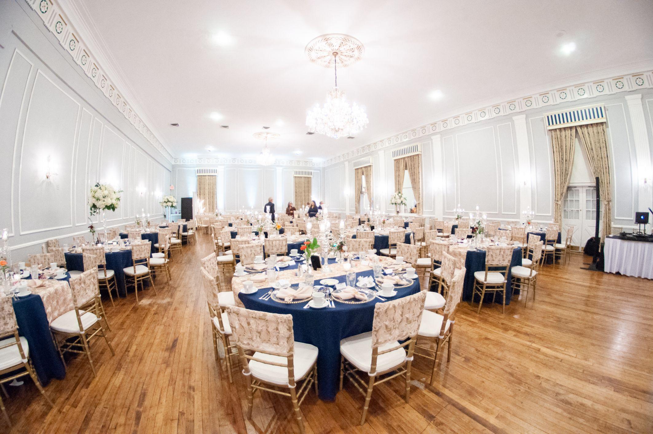 meeting house grand ballroom reception space