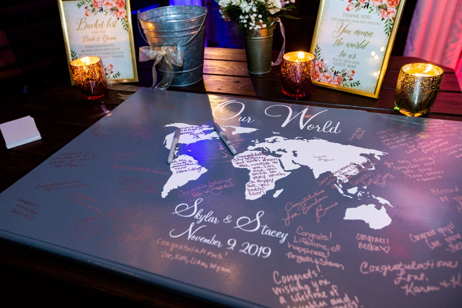 our world guest book