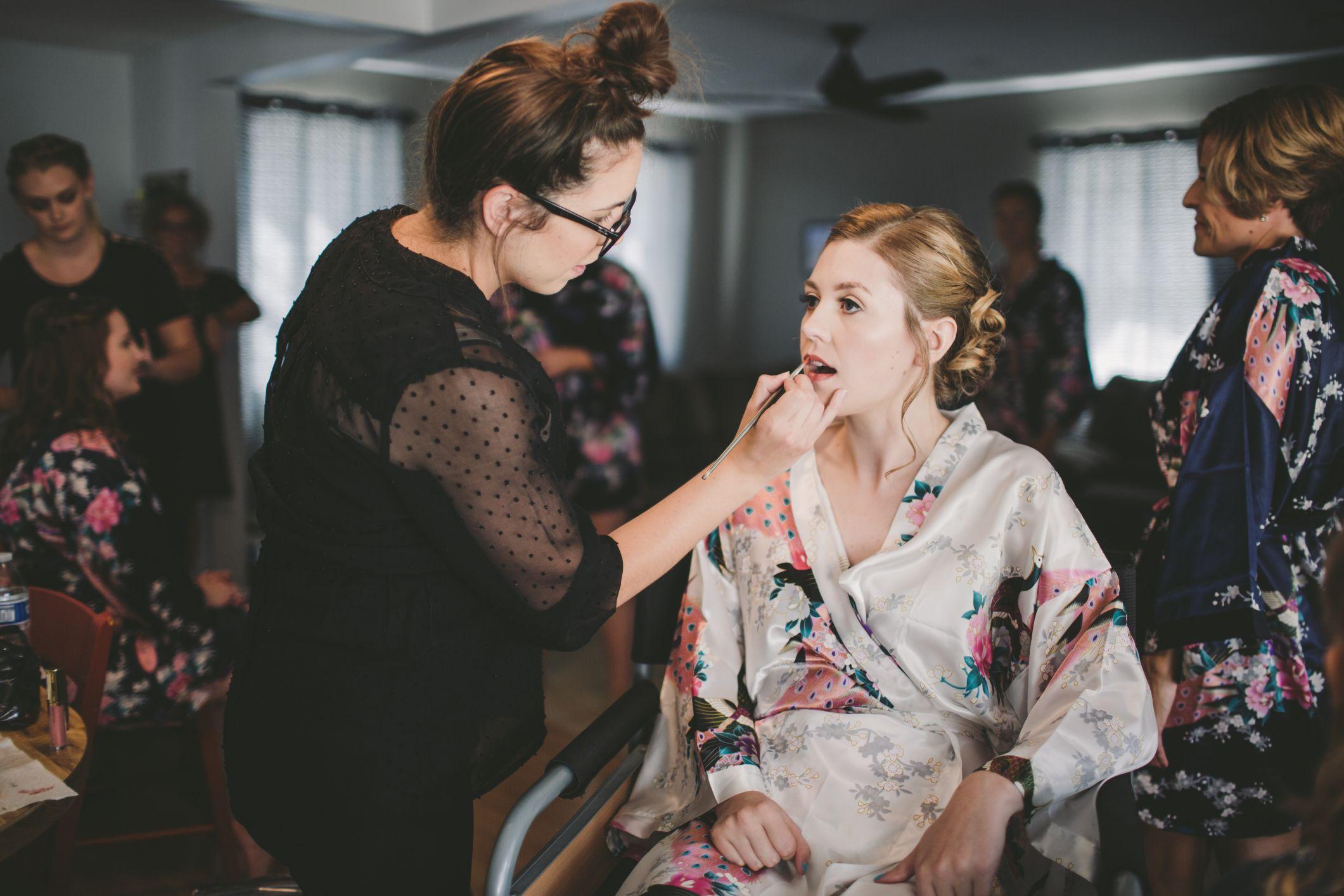 professional wedding day makeup artist