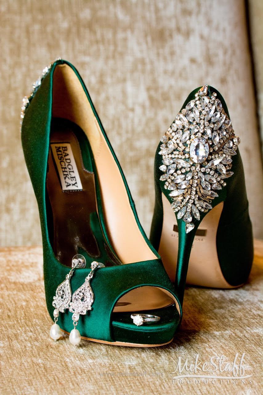St. Patrick's Day wedding style