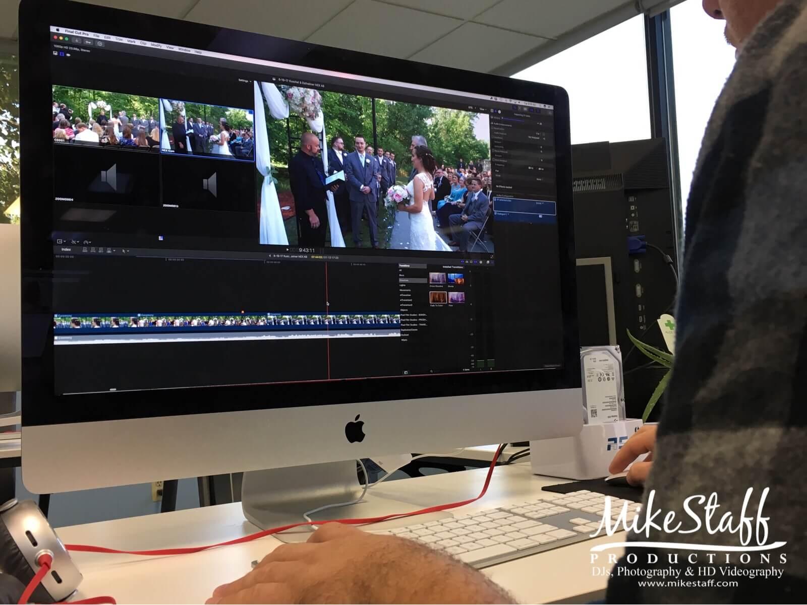 editing highlight reel