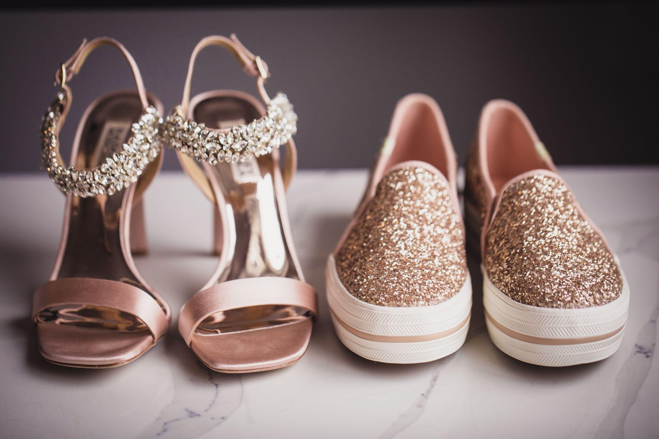 wedding heels and flats
