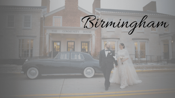 Birmingham Michigan Wedding
