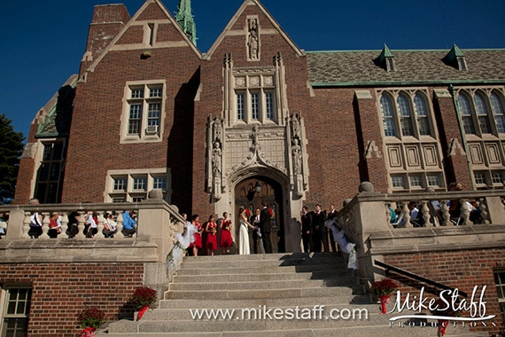 Grosse Pointe Academy Chapel Wedding