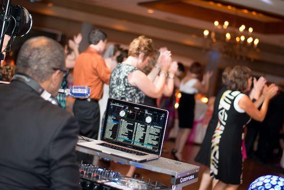 DJ at corporate event