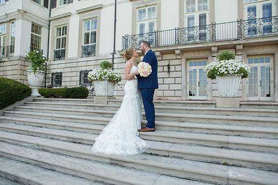 Grosse Pointe War Memorial in Michigan Wedding