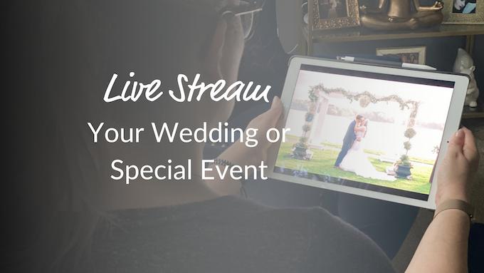 Livestream Your Wedding Video Overlay