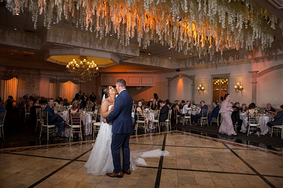 Troy Michigan Wedding at Petruzzellos first dance