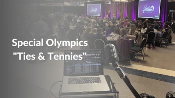 Special Olympics Ties & Tennies