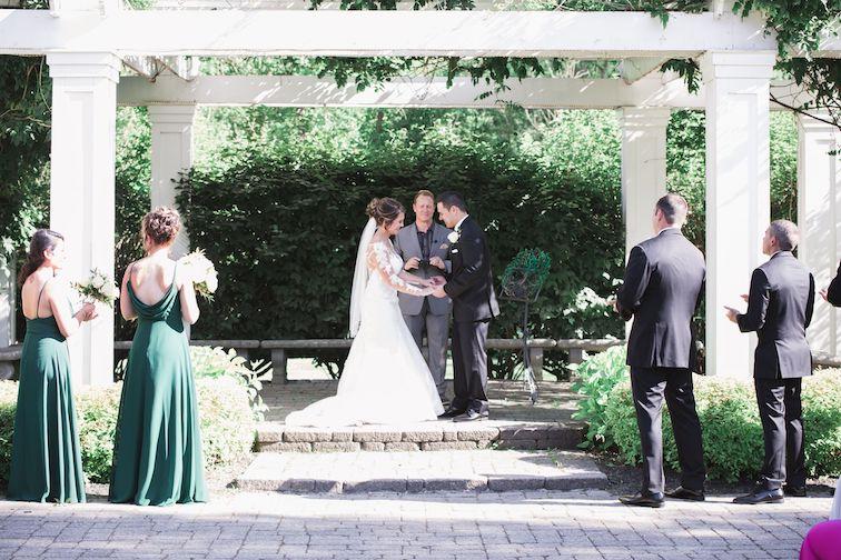 Summer Wedding Ceremony