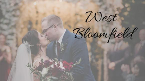 West Bloomfield Michigan Wedding