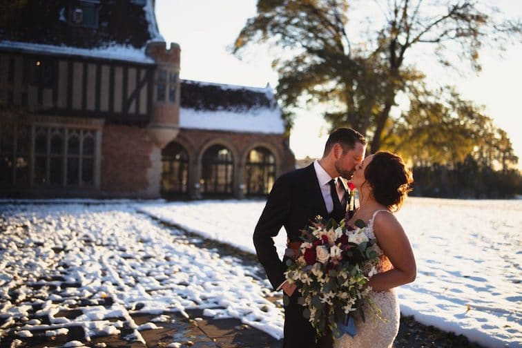 What Season Should I Get Married: Winter Wedding at Meadow Brook Hall