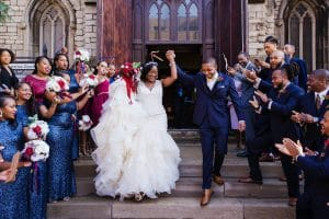 exiting church ceremony-