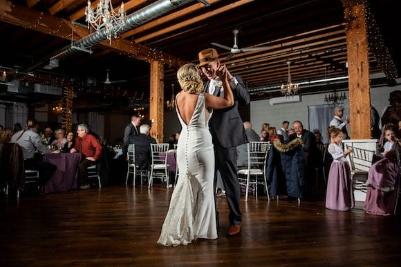 first dance at the Holly Vault