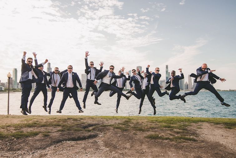 groom can plan groomsmen attire