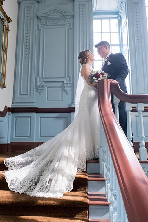 henry ford lovett hall staircase