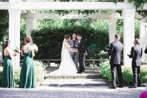 intimate wedding officiant ceremony header