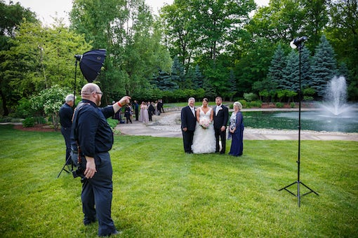 intimate wedding photograper